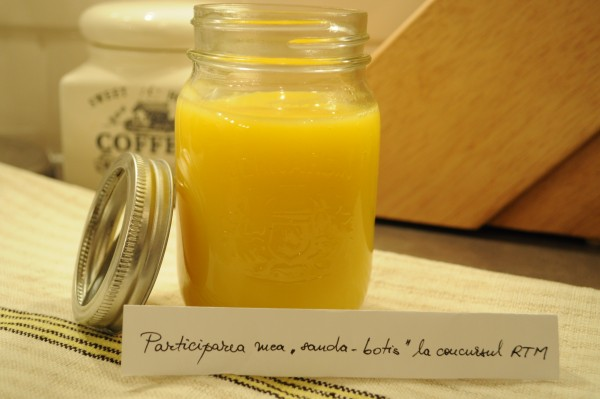 Orange – sau lemon – curd by Sanda Botis