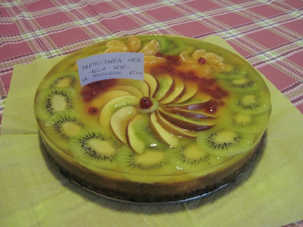 Cheesecake clasic by Delia Dede