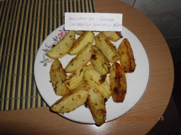 Cartofi condimentati la cuptor by Cristina Luntraru