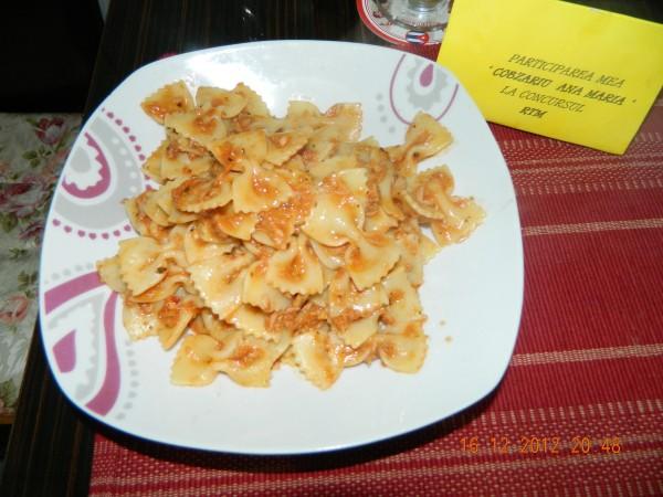 Paste cu sos de peste by aryana