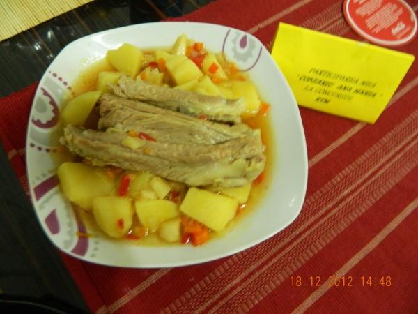 Papricas cu oase de porc by aryana
