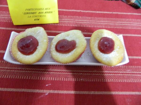 Muffins cu visine by aryana