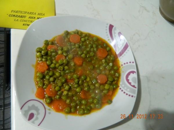 Mancare de mazare cu morcovi by aryana