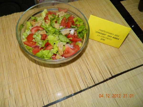 Salata cu piept de pui by aryana