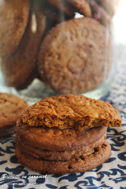 biscuiti caramel sectiune 1