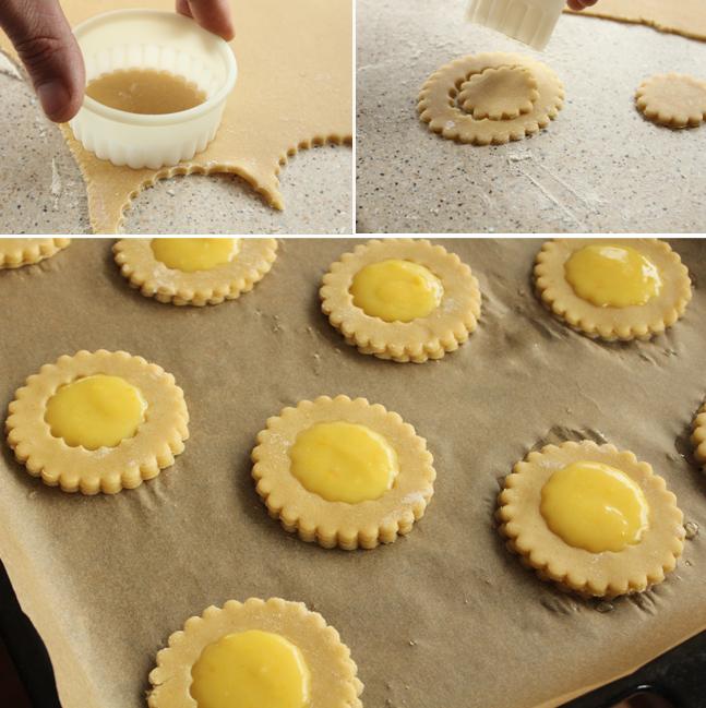 biscuiti cu miere si lamaie preparare