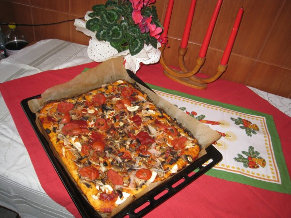 Reteta video: Pizza vegetariana – de post by nicoleta60