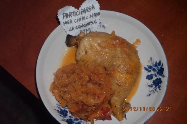 Rata pe varza la cuptor by chiricnadia