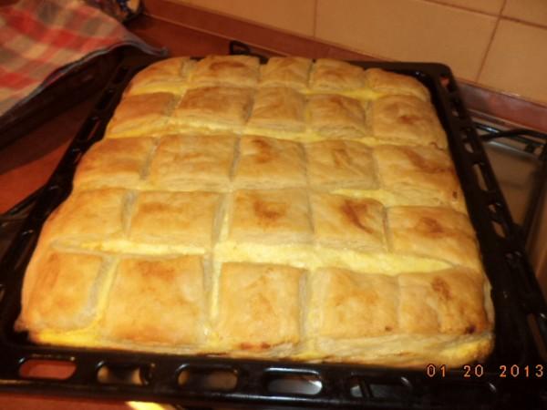 Aluat foietaj – Placinta cu branza si urda by crina