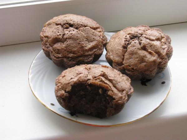 Muffins cu ciocolata by Monica Esperance