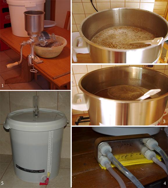 fabricarea berii din malt si hamei