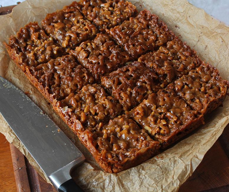 prajitura cu nuca si caramel 2
