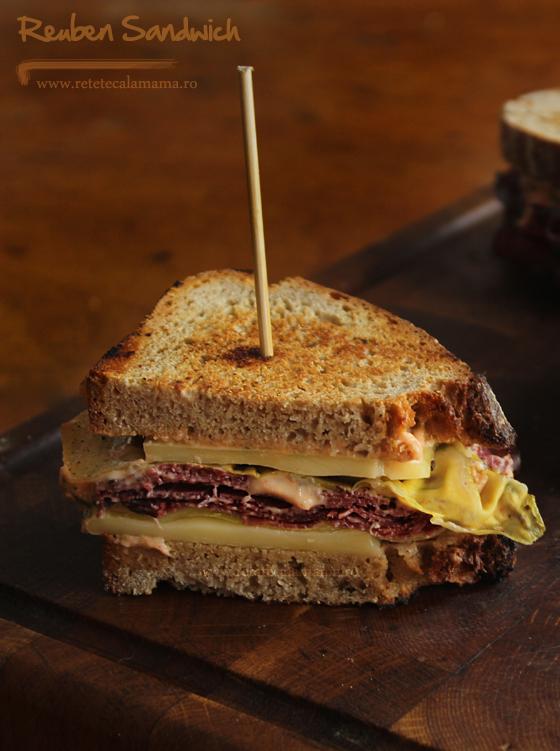 reuben sandwich, reteta sandvis reuben