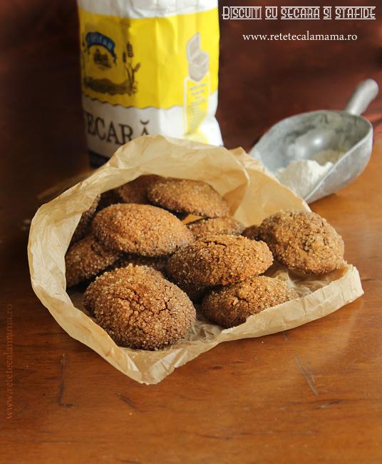 biscuiti cu secara si stafide 1 s