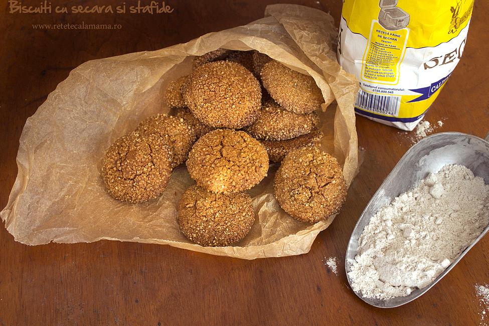 biscuiti cu secara si stafide 3