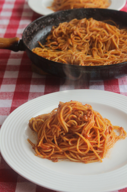 spaghetti all amatriciana