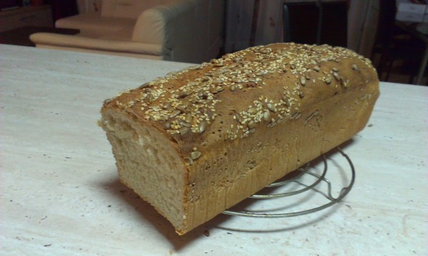 Paine de casa moale pentru sandvisuri by criston84