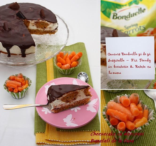 cheesecake cu morcovi