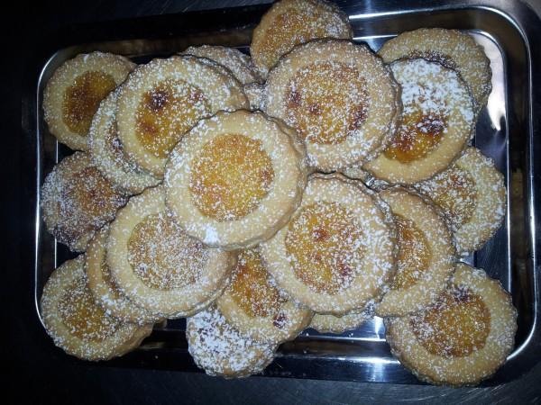 Biscuiti cu miere si crema de lamaie by Olimpia.conea
