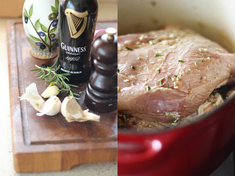 Piept de porc la gratar, marinat in bere Preparare-piept-de-porc-la-gratar-marinat-cu-bere