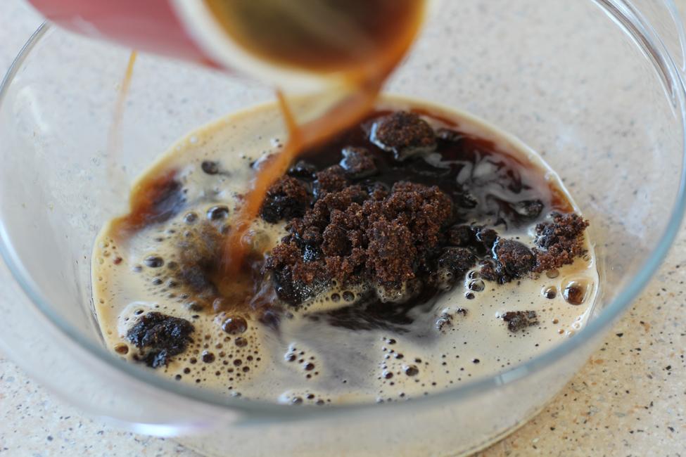 preparare sorbet cafea 1