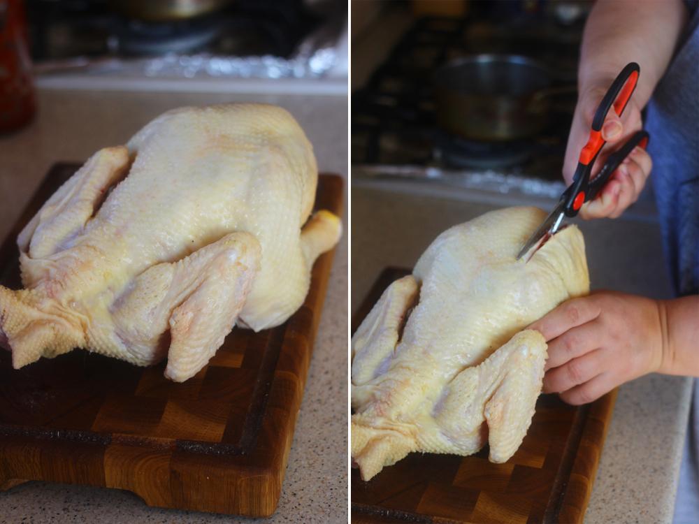 preparare 1 pui cu lamaie si doua feluri de mustar