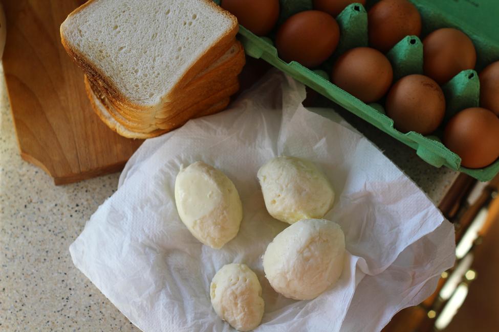 mozzarella in carrozza ingrediente