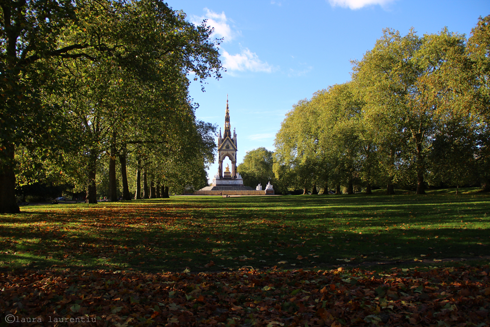 Albert's memorial in Hyde Park s