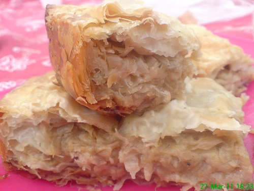 Placinta cu varza – burek – de post by Cristinas World