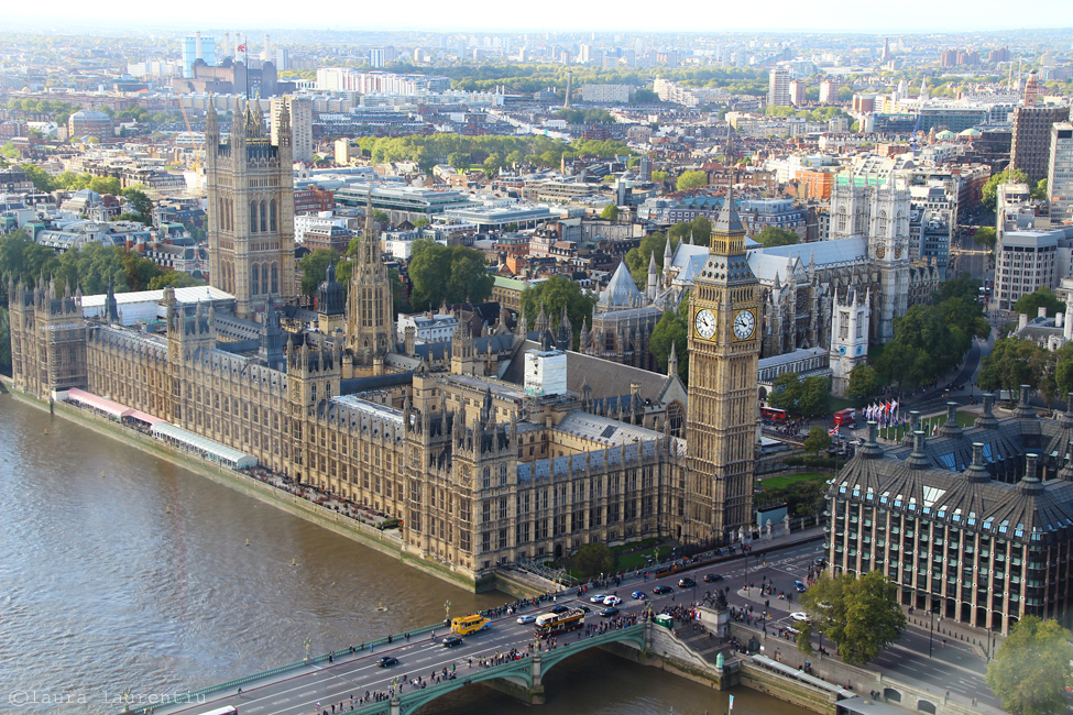 big ben din london eye