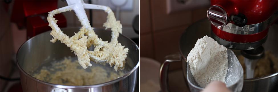 preparare 1 biscuiti cu cocos si caramel