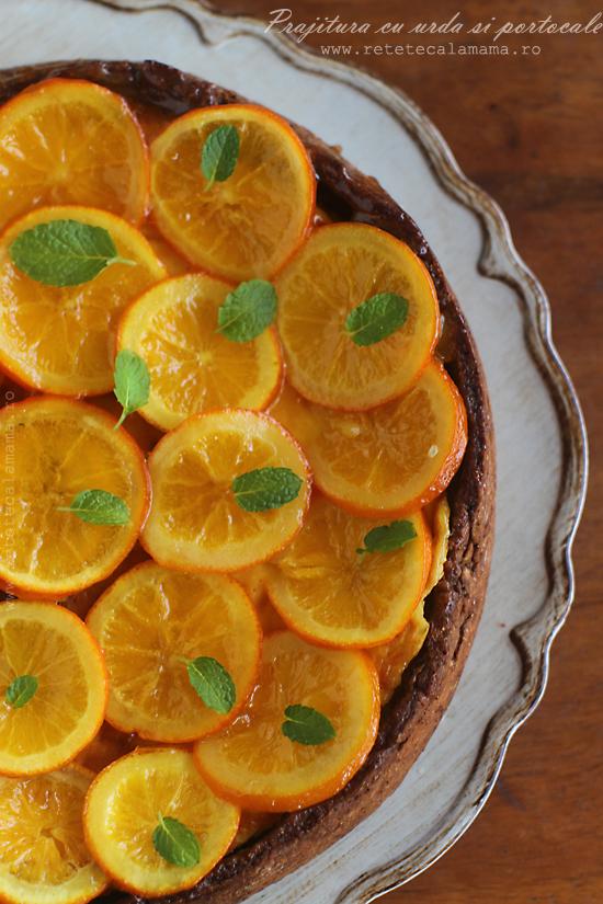 prajitura cu urda si portocale 2