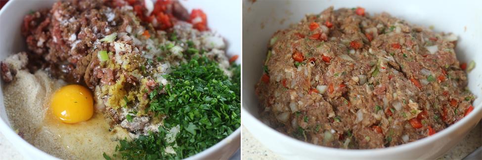 preparare gutui umplute cu carne 1