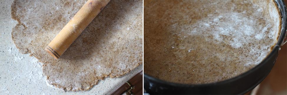 preparare prajitura cu urda si portocale 4