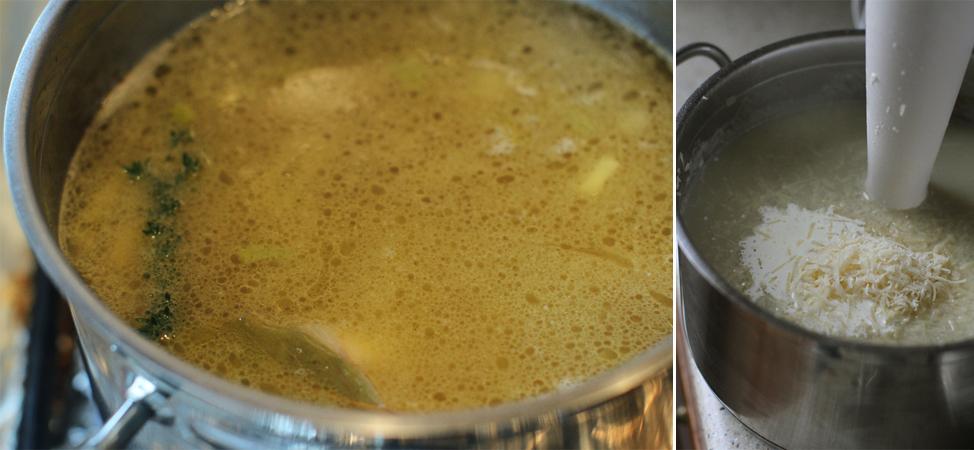 preparare supa crema de napi 3