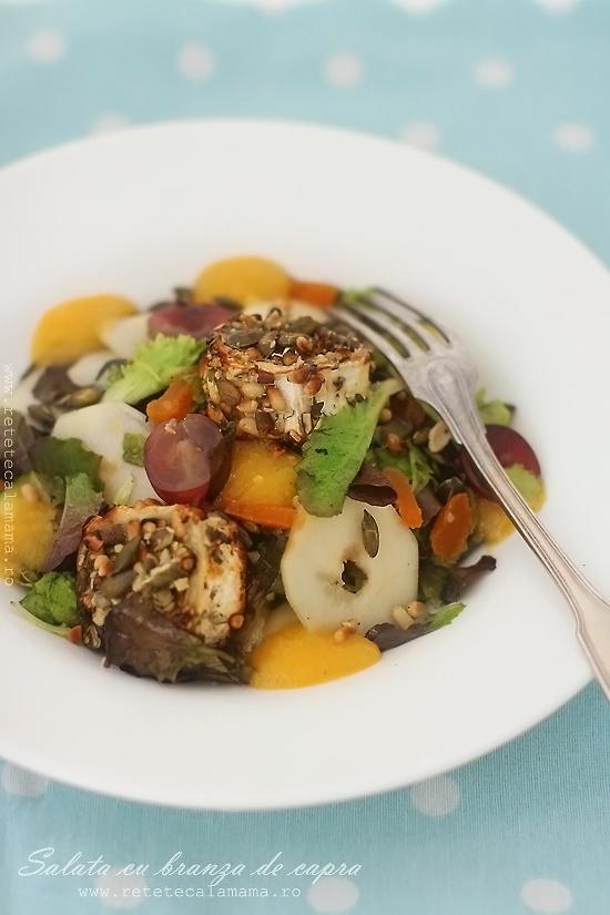 salata cu branza de capra-1