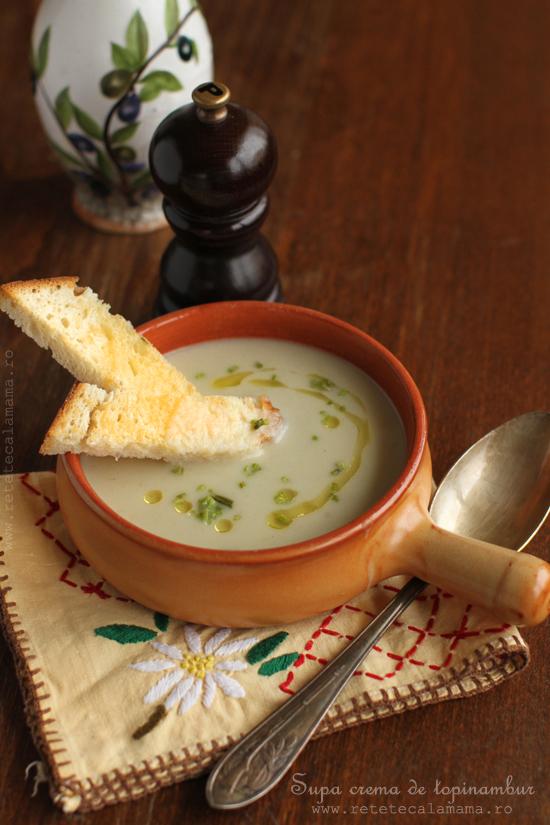 Supa crema de napi
