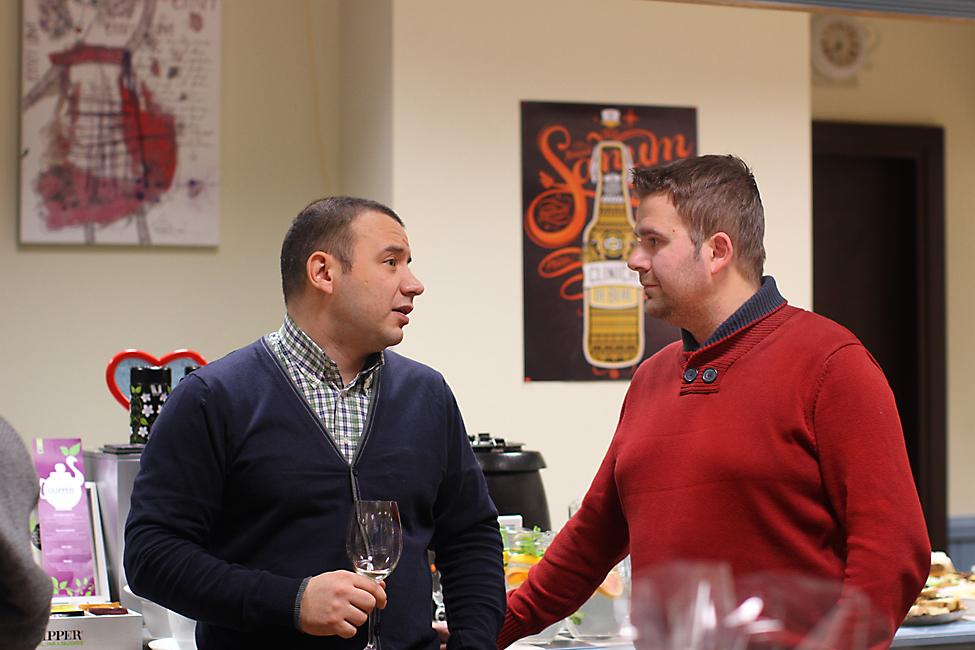 Marius Tudosiei si Chef Razvan Alexandru