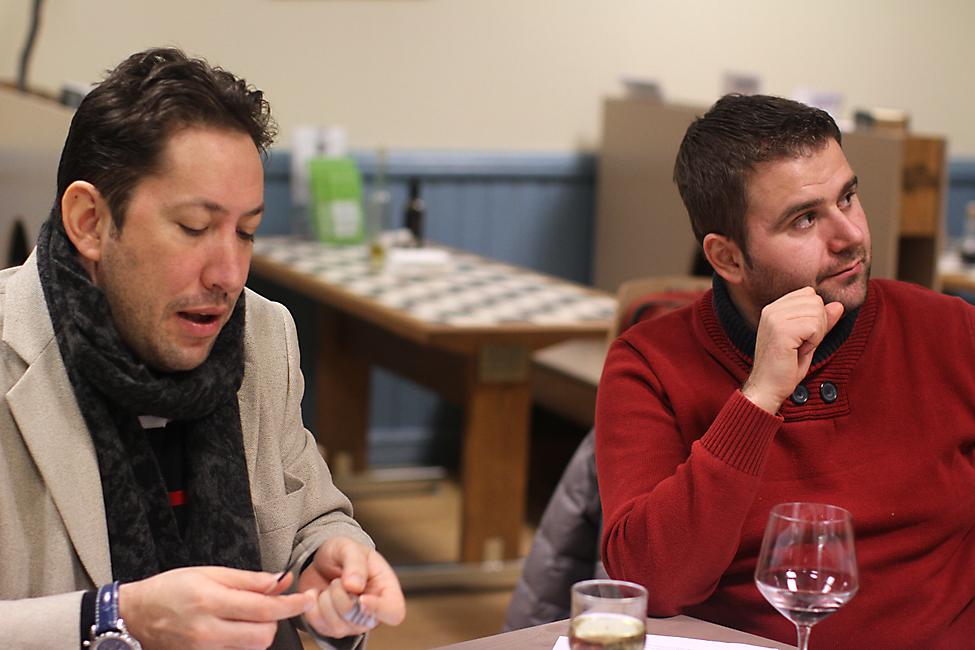 Chef Cezar Munteanu si Chef Razvan Alexandru