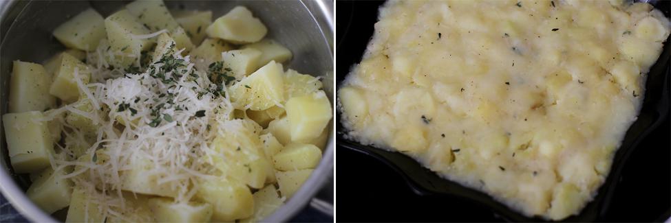 patties de cartofi - english breakfast