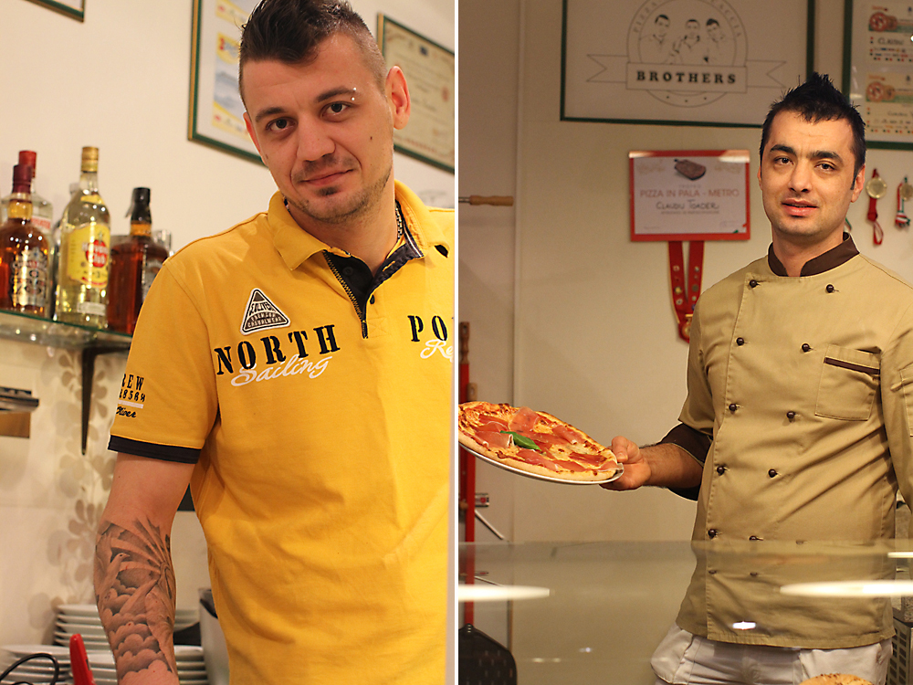 pizza brothers george&florin