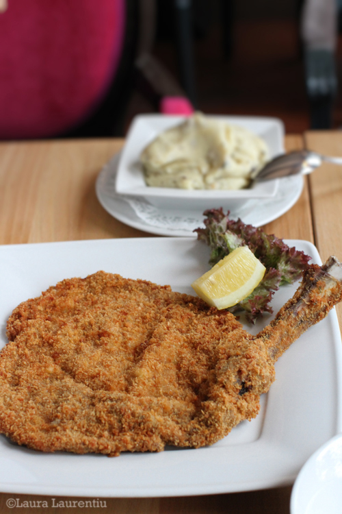 baby veal milanese