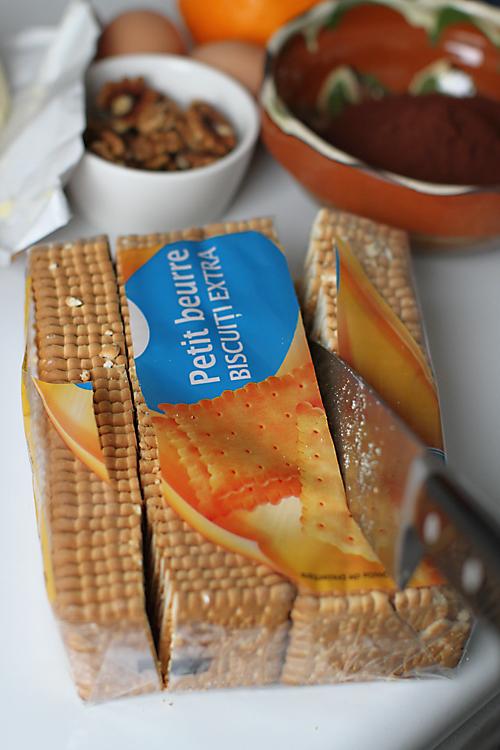 petit fours de biscuiti - preparare 1