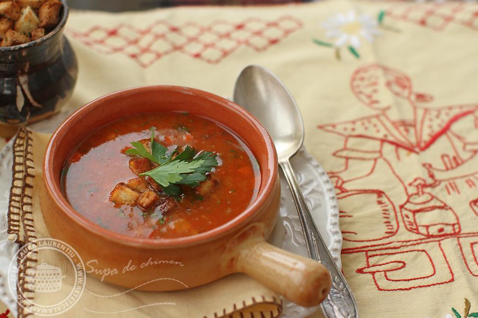Preparare Ciorbă de legume, rețetă de post simplă și rapidă 5