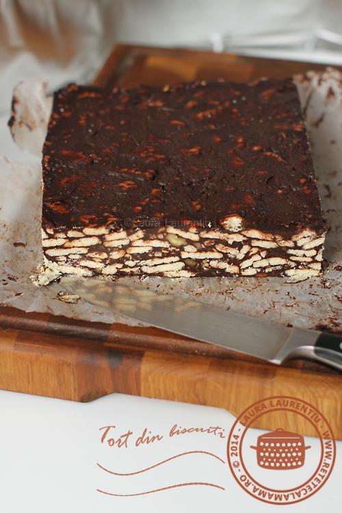 Tort de biscuiti 1