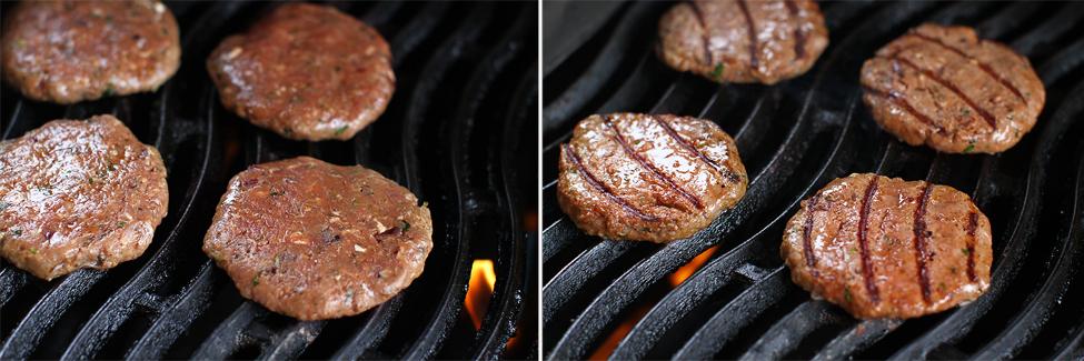 hamburgeri pe gratar