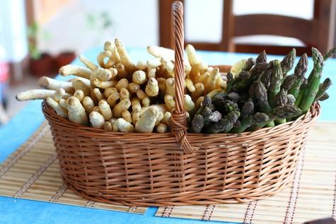 sparanghel - despre proprietatile sparanghelului - retete cu sparanghel