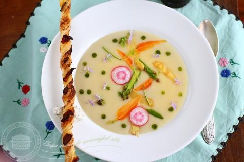 Supa crema de sparanghel alb