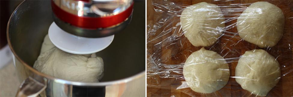 preparare aluat placinta cu spanac 2