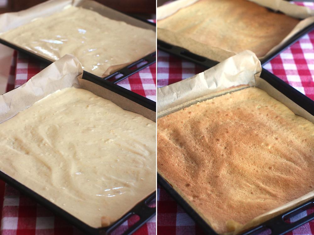 preparare blat cu caramel 2
